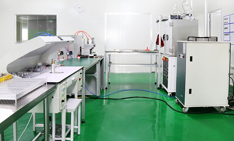 To achieve the goal of automatic production, wotian set up a laboratory