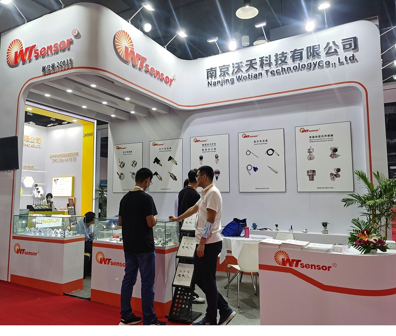 Nanjing Wotian participated in China (Shanghai) International Sensor Technology and Application Exhibition