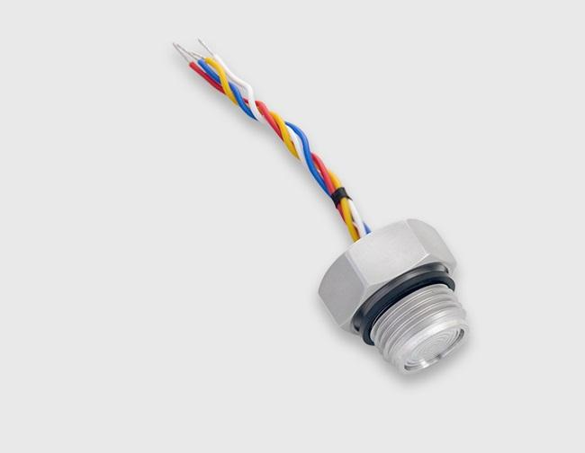 Wotian New Product-PC12Ⅱ Thread Flat Film Pressure Sensor