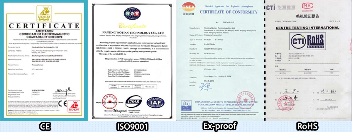 PCM10 Industrial Pressure Sensor