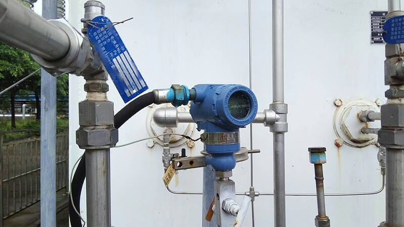 Application of pressure transmitter in water treatment industry
