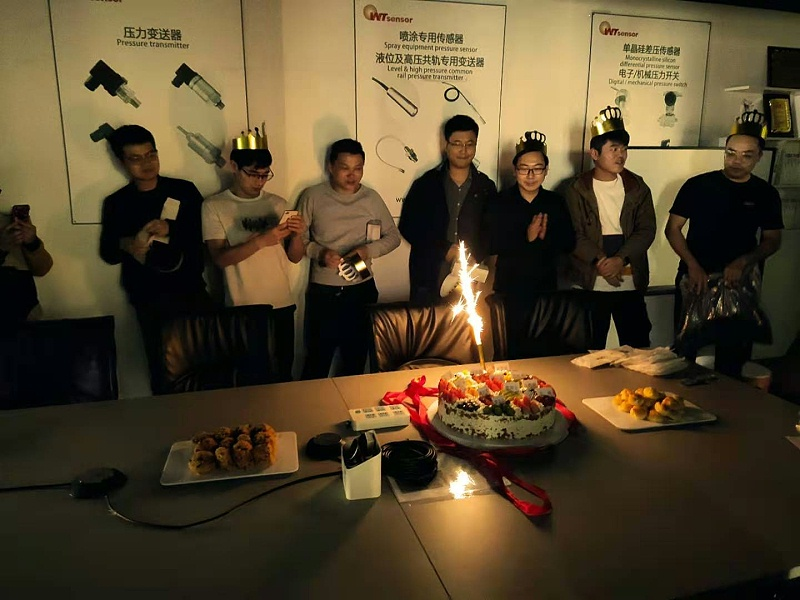 Employee birthday party---In the years of struggle, Wotian will move forward with you