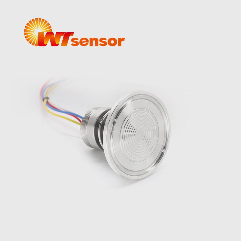 PC12K Flush Diaphragm Pressure Sensor with Tri-Clamp