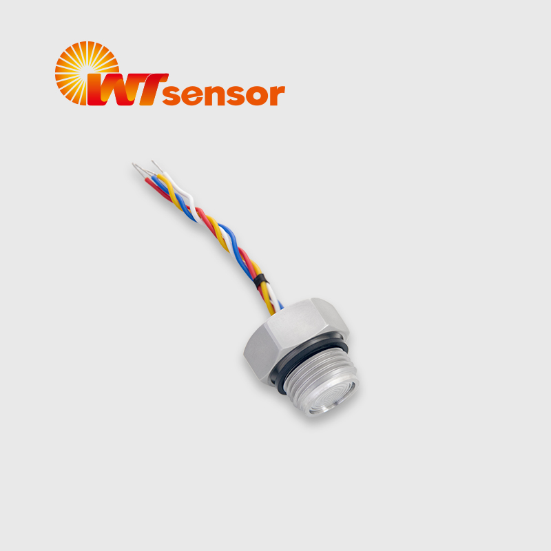 PC12Ⅱ Flush Diaphragm Pressure Sensor with thread