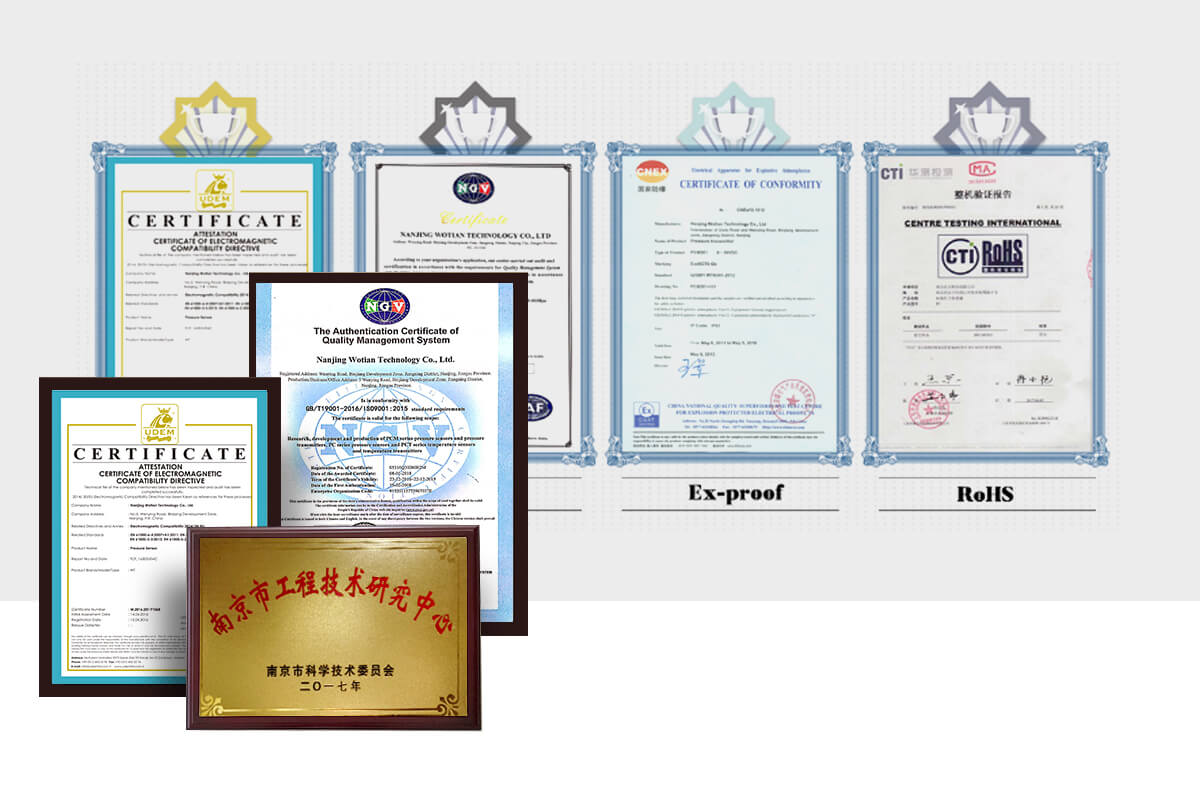 The patents and the certificates